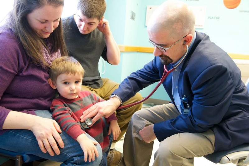 Pediatrician's Own Disease Makes Him More Relatable to OI Clinic Patient Families