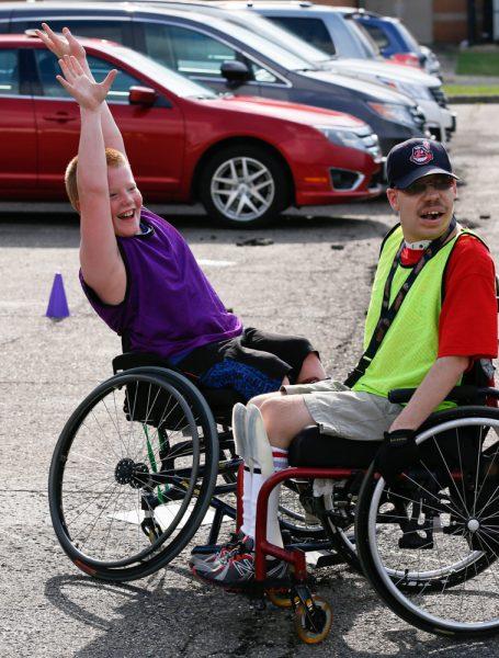Hospital Families Enjoy Day of Adaptive Sports