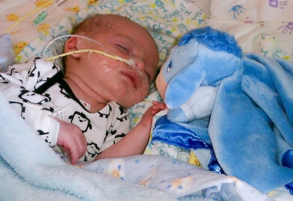 After Many Ups & Downs Miracle Baby Bryce Thrives After Brain Bleed 5 Years Ago