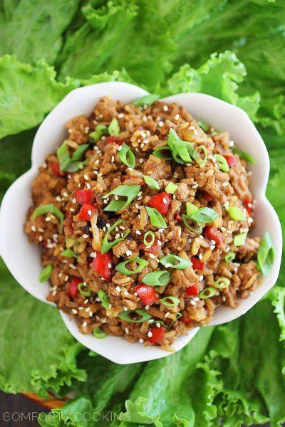 Recipe: Slow Cooker Asian Lettuce Wraps