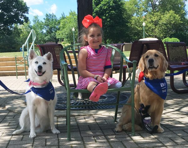 Special Animals, Special Girl Together in Therapy