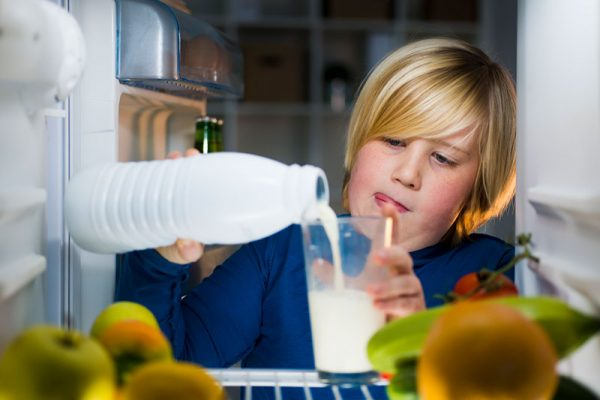 Alternatives Are a Must for Children with Milk Allergies