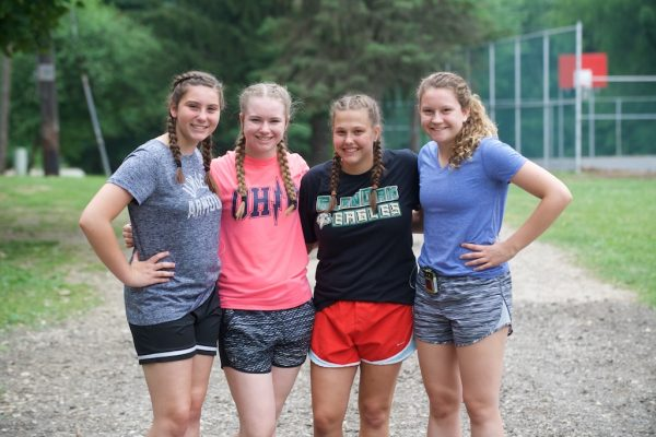 Diabetes camp leads to lasting bonds for 4 girls