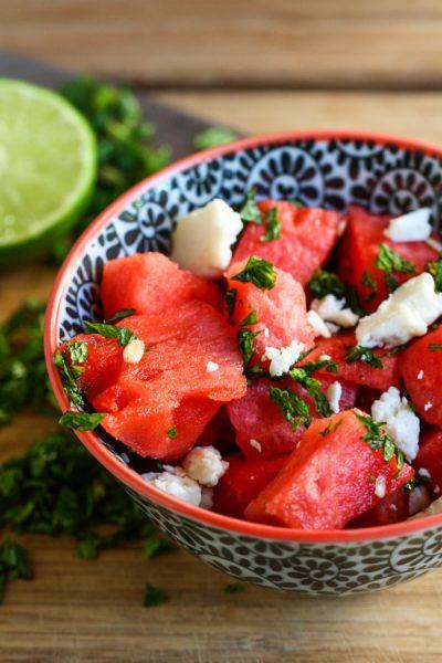 Healthy Recipe: Watermelon Feta Salad