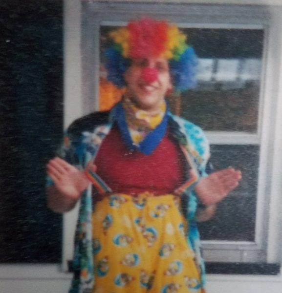 New neurologist loves clowning around, man's best friend