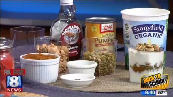 Healthy after-school snacks (VIDEO)