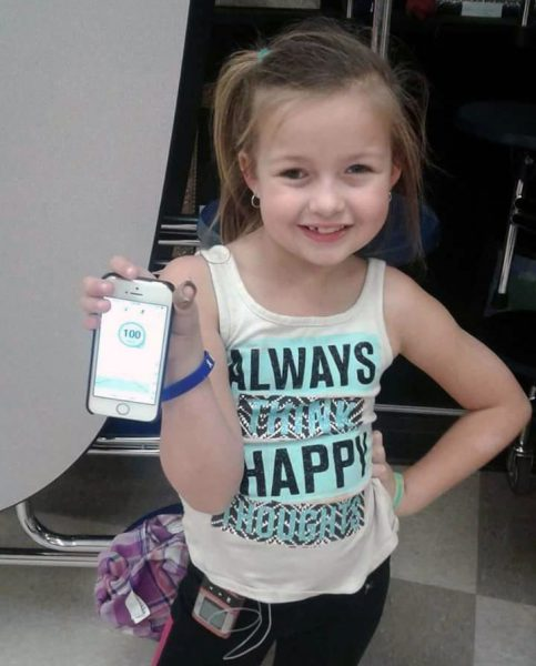 8-year-old 'T1D Warrior' educates everyone she meets