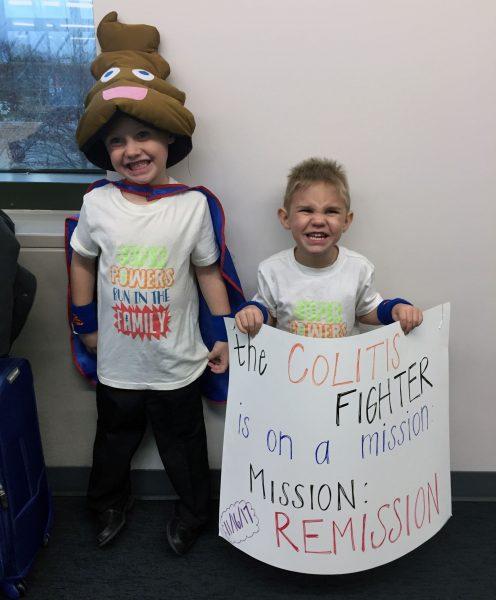 "Joshua ""The Colitis Fighter"" Detweiler visits Akron Children's"
