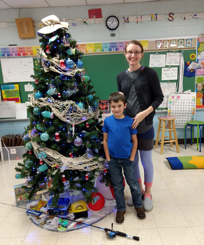 Holiday Tree Festival spotlight: Gone Fishin'