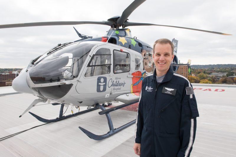 Flight chaplain John Morgan recognized for his work:Inside