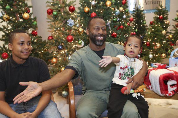 Hirschbecks help brighten holidays for palliative care families