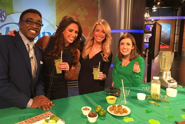 """Dietitian recommends diet of healthy """"greens"""" on St. Patrick's Day"""