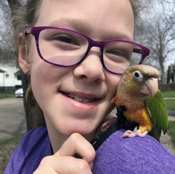 Tics & Tourette's isn't going to keep this precocious 3rd grader from realizing her dreams