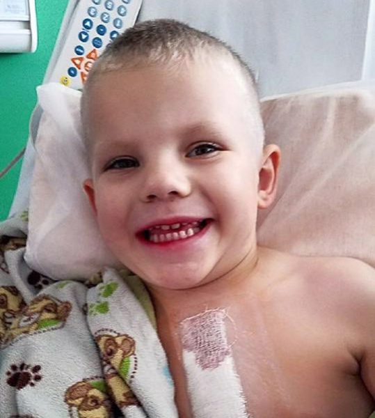 1 year after surgery: Bryce returns to celebrate, cheer up other 'heart families'