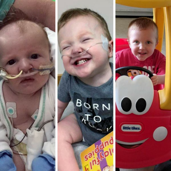 """Tyler Wilson makes great strides after precarious start <small class=""""subtitle"""">Meet the Walk for Babies Feature Family</small>"""