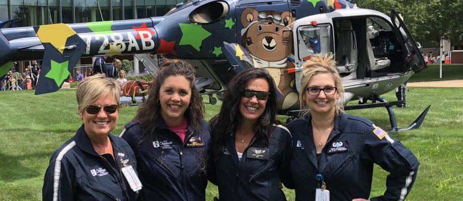 Akron Children's celebrates Air Bear's 10th anniversary