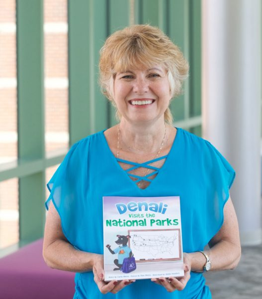 Off the job: Nurse and children's book author shares inspiration behind her canine-themed tale