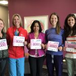 Finishing strong: Olympian joins Akron Children's employees for an inspiring run