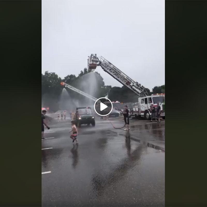 ACBC burn camp fire truck day