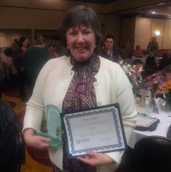 Pam Baker, OONE Nursing Leadership Award