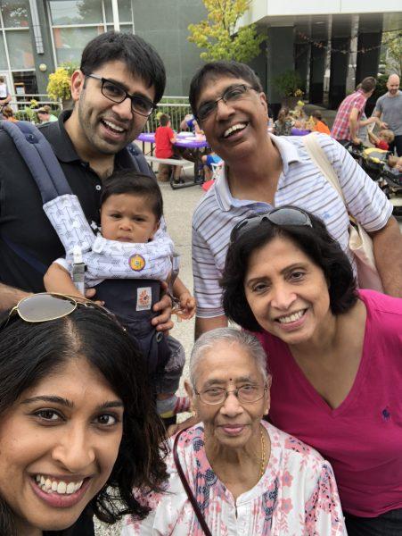 Dr. Raghavan family