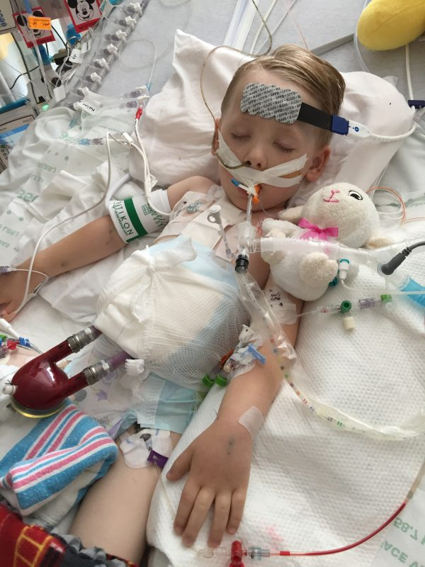 Cardiologists team up to give boy new heart, second chance