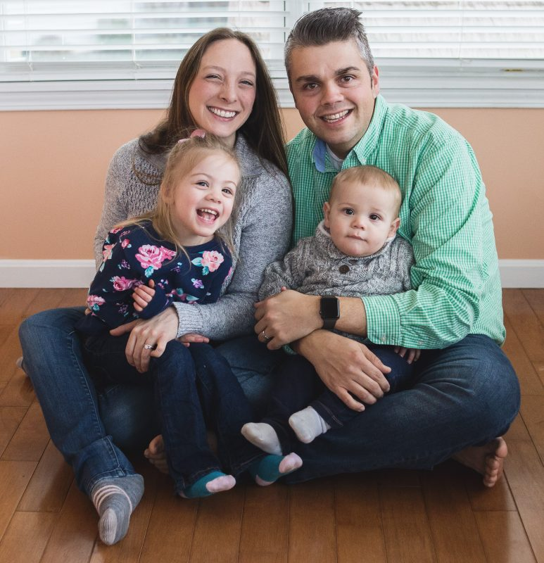 Children's Champion Jeff Young and family