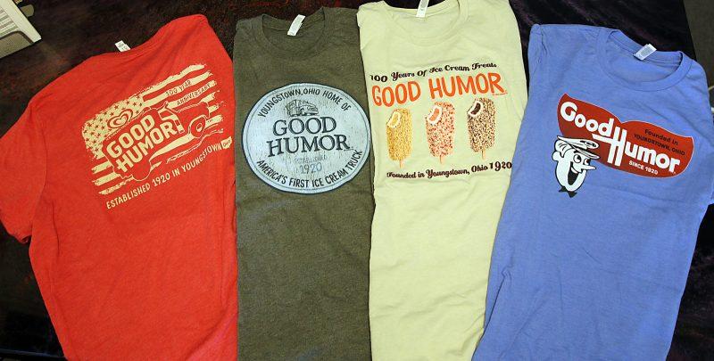 Good Humor t-shirt line