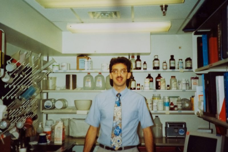 Young Chuck Lawrence old pharmacy