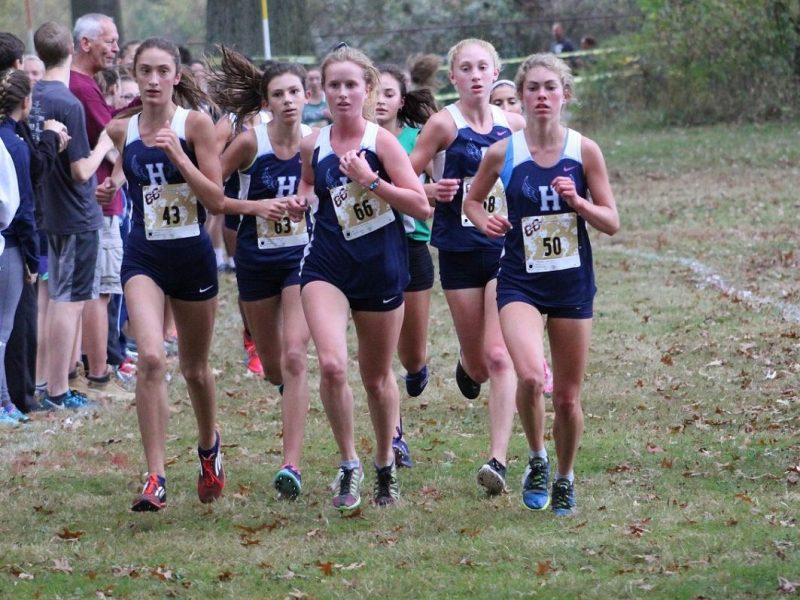 Elizabeth Hinkle running
