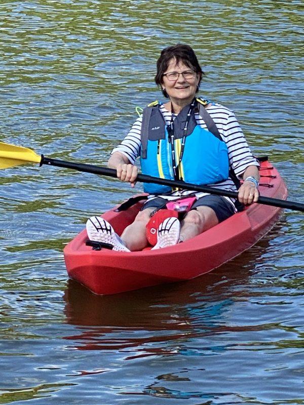 Anne Moss kayak
