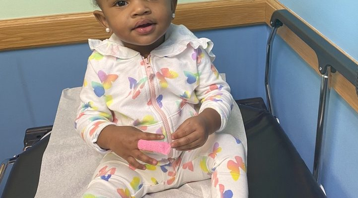 Kamryn continues to show sickle cell disease who's boss.