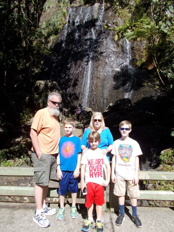 Maria McClure & family