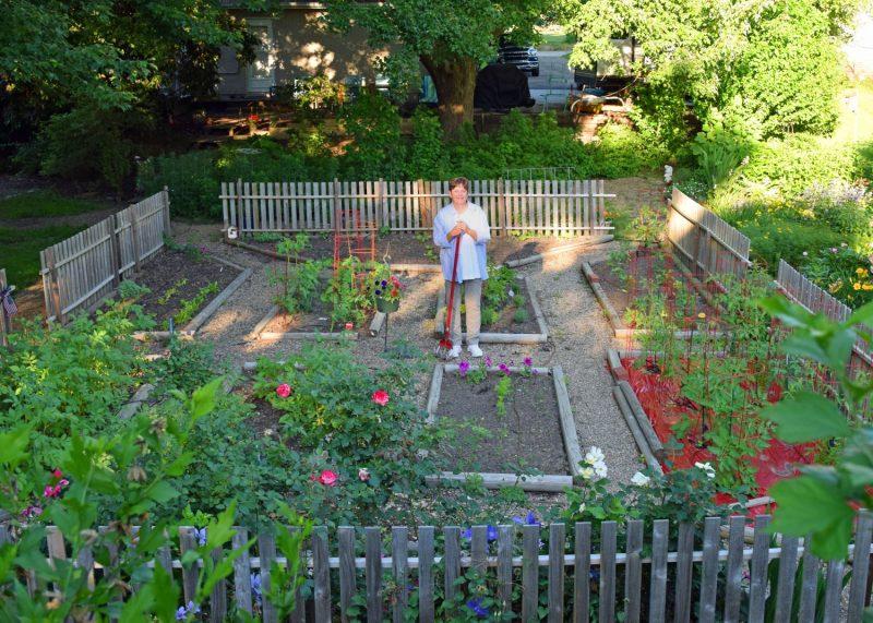 Mary Douglas garden