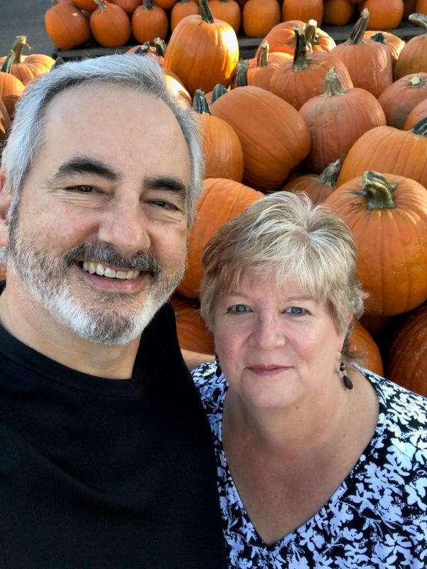 Chuck Reid with his wife Jennifer