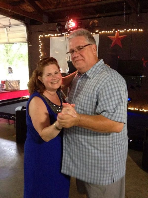Rick Trego and his wife Melissa