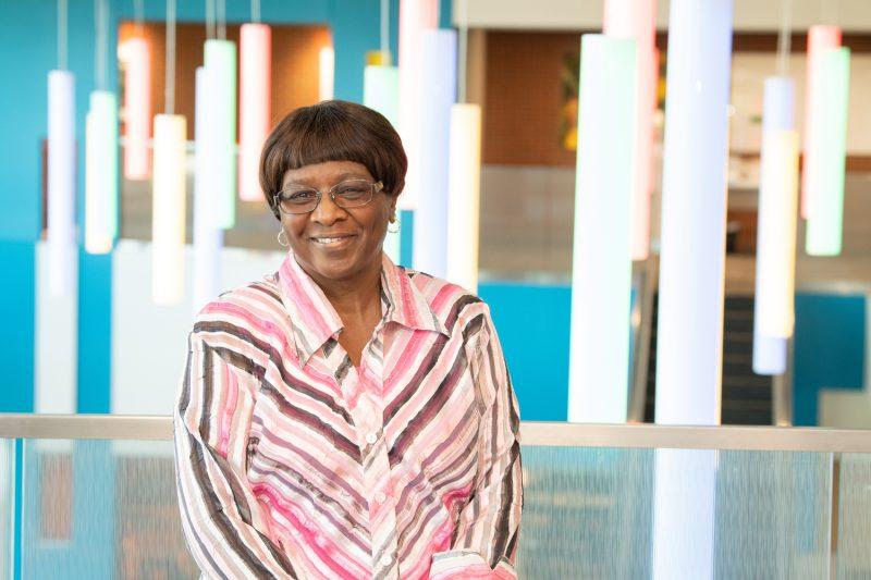 Annie Manuel retirement photo