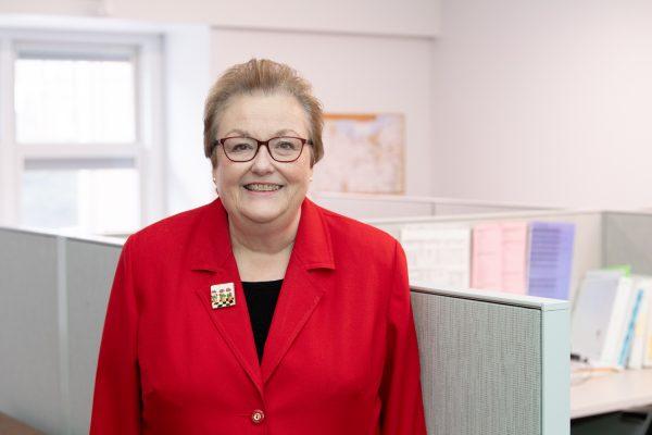 Kay Kirtley retirement portrait