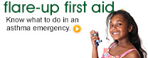 Flare-Up First Aid: Know what to do in an asthma emergency.