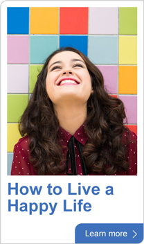 How to live a happy life