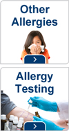 Other allergies and allergy testing