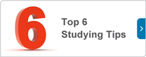 Top 6 studying tips