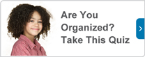 Are you organized? take this quiz