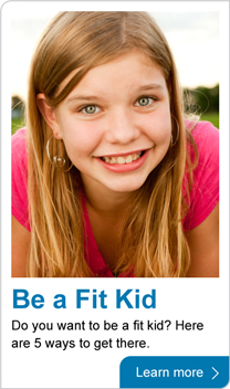 be a fit kid