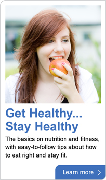 get healthy ... stay healthy