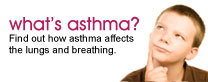 What is asthma? Find out how asthma affects the lungs and breathing.