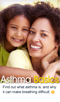 Asthma Basics: Find out what asthma is, and why it can make breathing difficult.