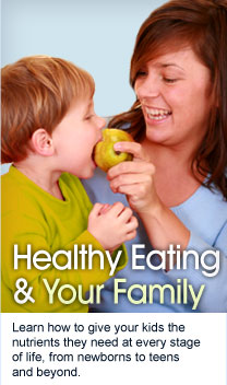 Healthy Eating & Your Family
