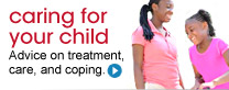 Caring for your child. Advice on treatment, care, and coping.