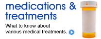 Medications and Treatments What to know about various medical treatments.